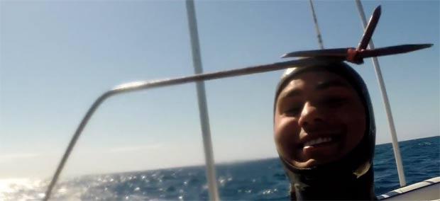 104kg tuna spearfishing dented sh